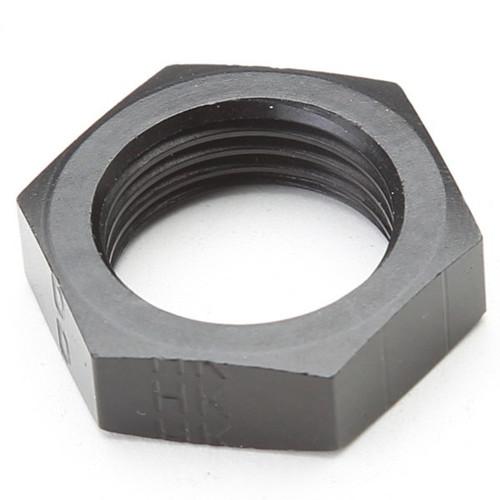 An Nut For #8 Bulk Head Adapter - Black