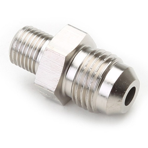 An Hose Adapter Fitting - Male 10mm X 1.0 To Male #6 / Straight-Steel