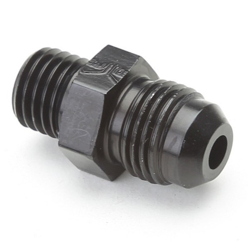 An Hose Adapter Fitting - Male 12mm X 1.5 To Male #6 / Straight-Black