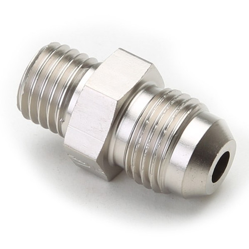 An Hose Adapter Fitting - Male 12mm X 1.5 To Male #6 / Straight-Steel