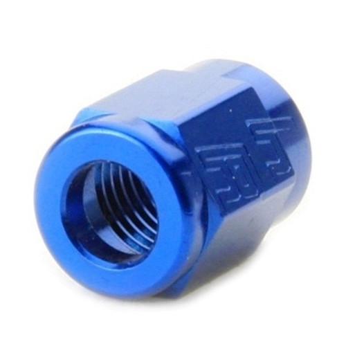 "Tube Nut For 3/8"" Stainless Steel Hard-Line - Blue"