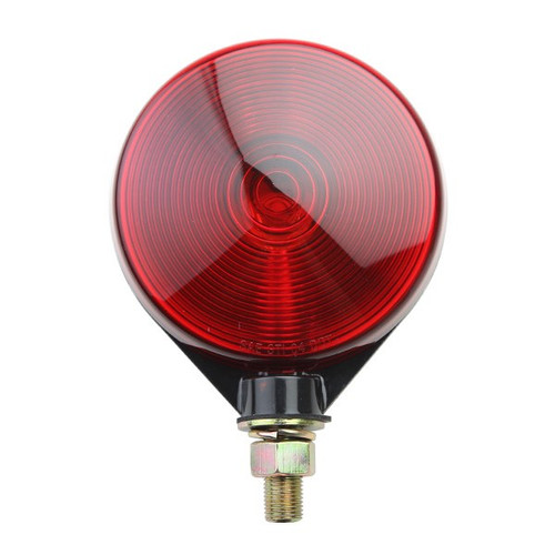 """4"""" Off-Road Light With Red Lens And Black Housing"""