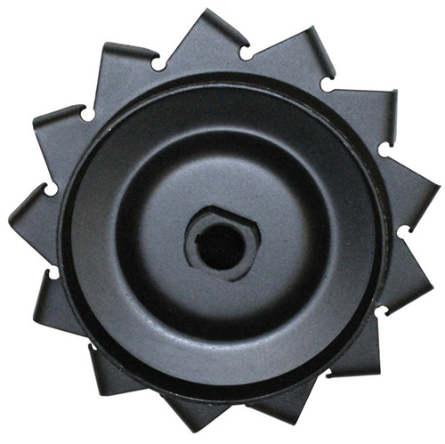 Black Generator/Alternator Pulley With Air Fins/Air-cooled Vw Engines