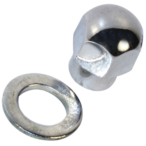 Special Chrome Pulley Nut For Billet Aluminum Pulleys
