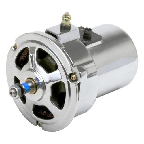 Chrome 55 Amp Alternator - Air-cooled Vw Engines/Bug/Ghia/Early Bus