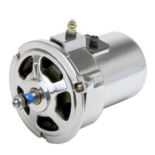 Chrome 75 Amp Alternator - Air-cooled Vw Engines/Bug/Ghia/Early Bus