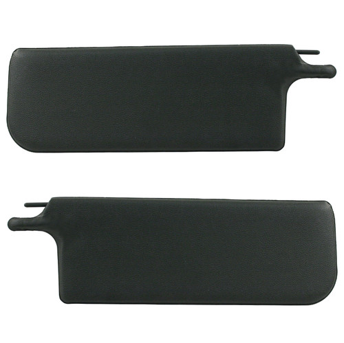 Empi 4401 Vw Bug Black Sun Visors 1965-1972 - Convertible, Pair