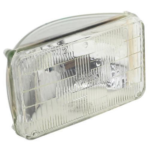 """Rectangular 12 Volt Headlight Bulb 4"""" X 6"""" High/Low Beam"""