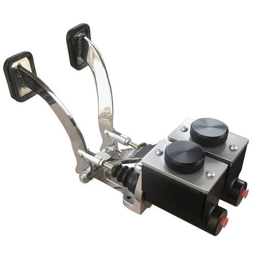 "Jamar BP5000X Dune Buggy Pedals 3/4"" Brake W/Foot Gas Pedal & Slave Cylinder"