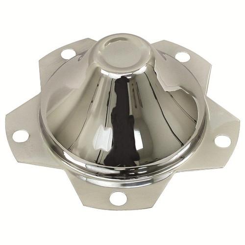 "5 Lug Vw Chrome Center Wheel Cap-Fits All Wheels With 6-1/2"" Hole"