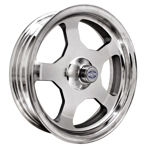 "Empi 10-1105 Race-Trim 15"" X 4"" King Pin Spindle Wheel W/Bearings-Seal-Dust Cap"
