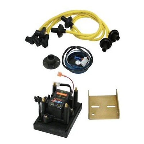 Compufire 11100-Y DIS-IX Vw Ignition System With Yellow Spark Plug Wires