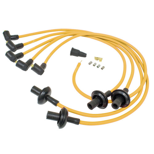 Yellow Silicone 8mm Spark Plug Wire Set For Air-cooled Vw Engines