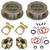 Empi 22-2929 Vw Bug Rear Disc Brake Kit 1968-1979, 5 Lug Vw Pattern