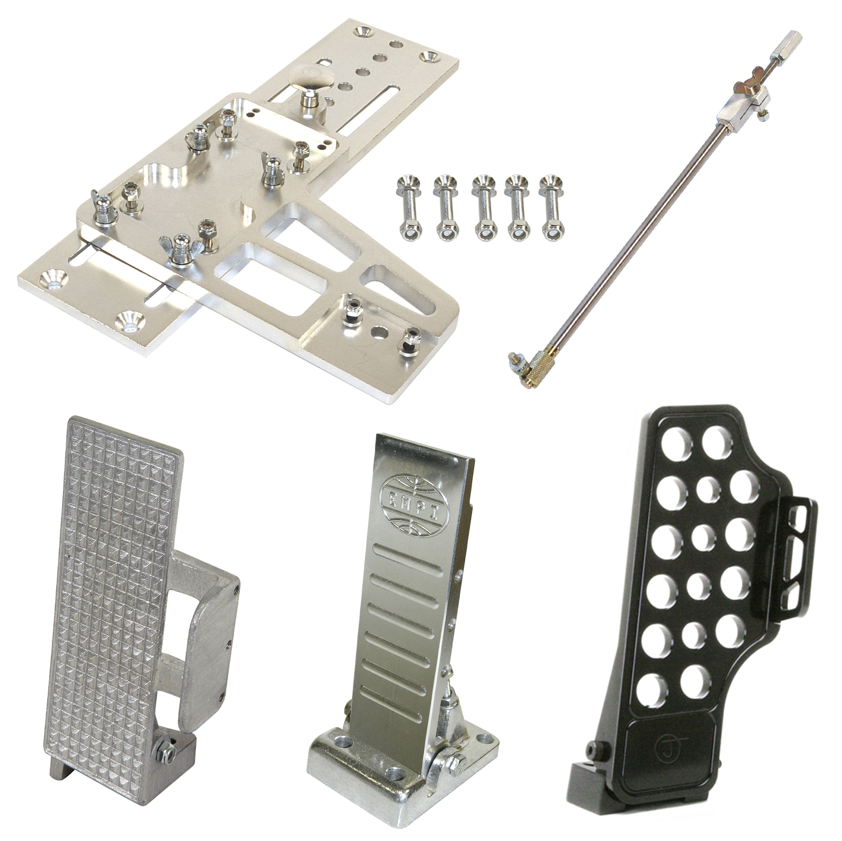 Gas Pedals & Slide Plates