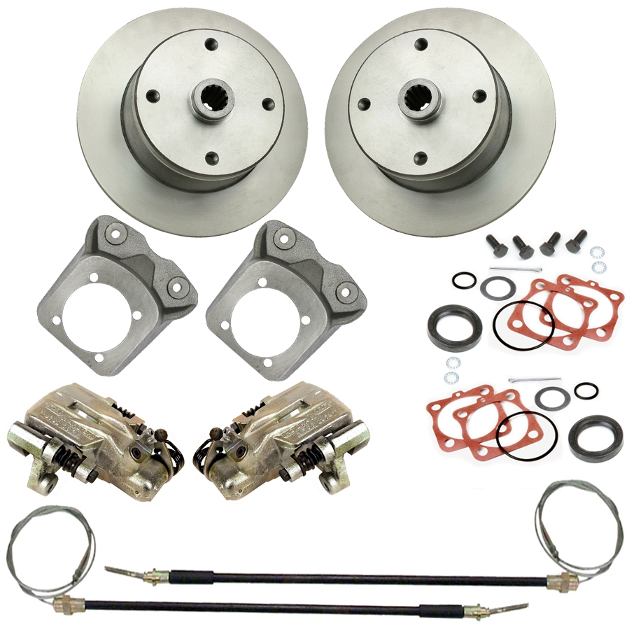 Rear Disc Brake Kits 4 Lug Vw