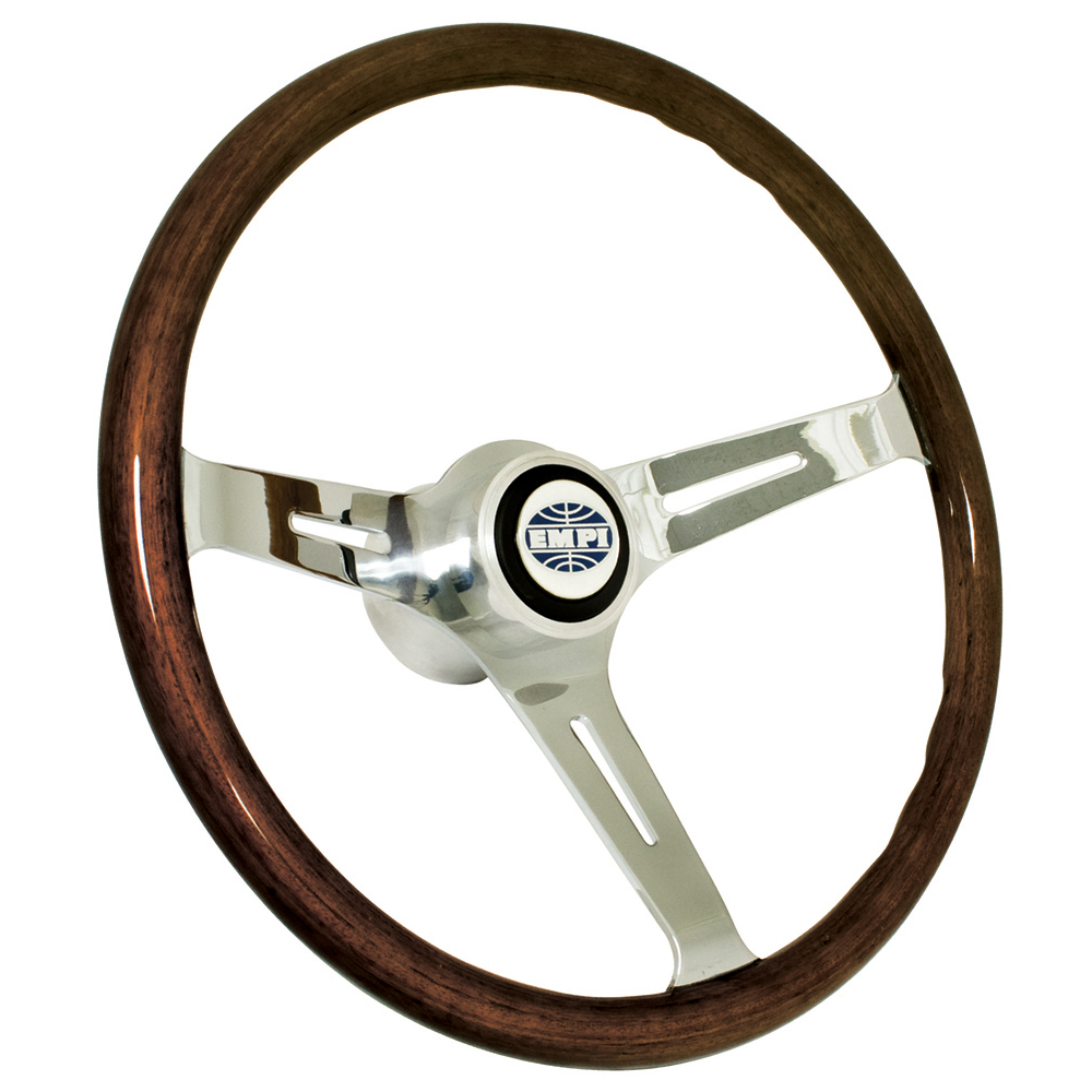 Empi 79-4022 Classic Vw Bug Steering Wheel With Adapter 15