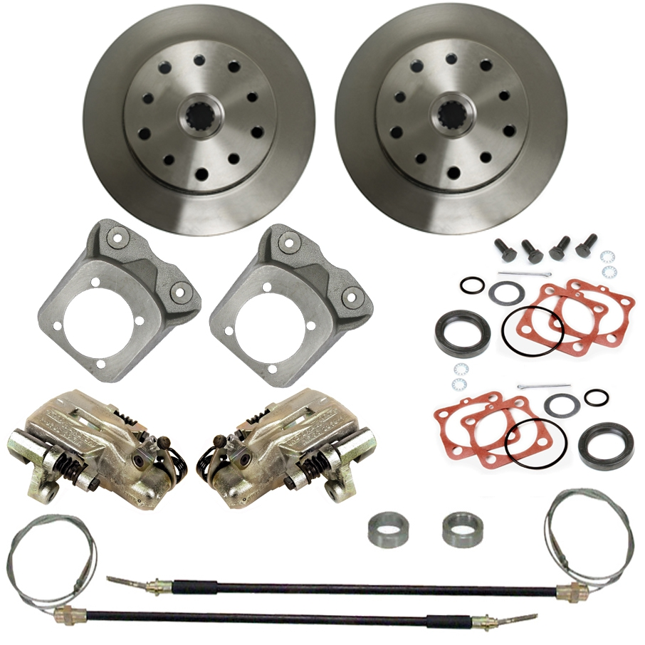 Rear Disc Brake Kits 5 Lug Chevy & Porsche