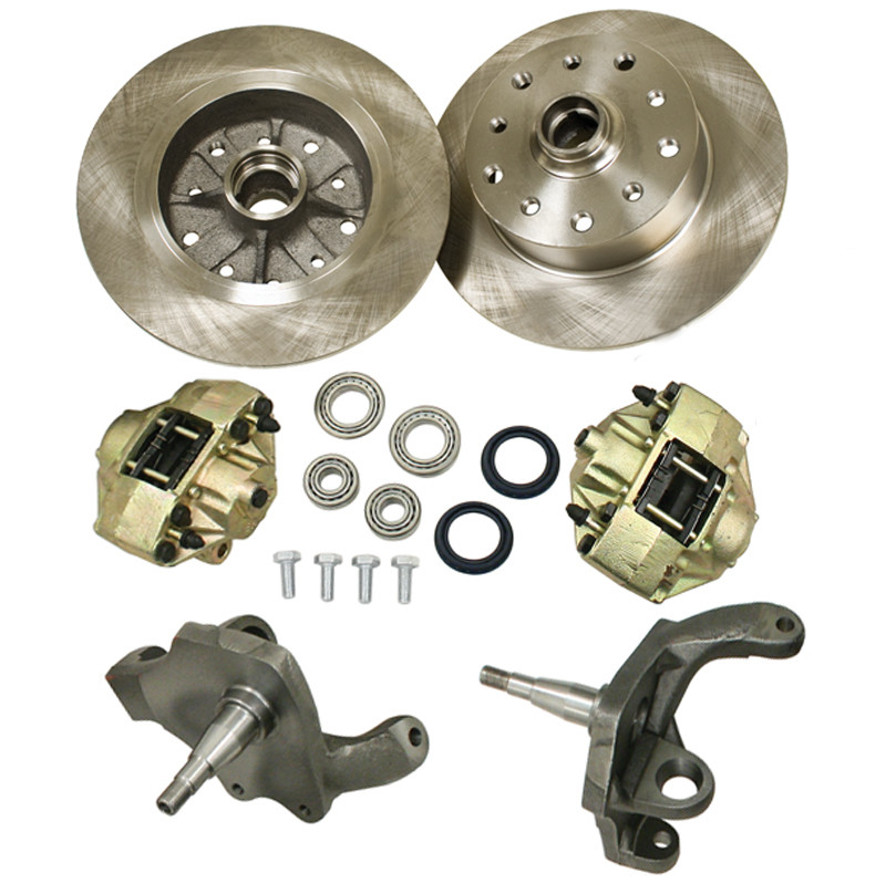 Front Disc Brake Kits With Drop Spindles