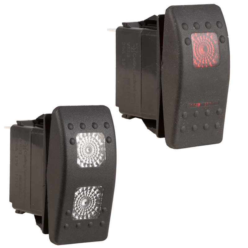 K4 Contura Lighted Hard Touch Switches