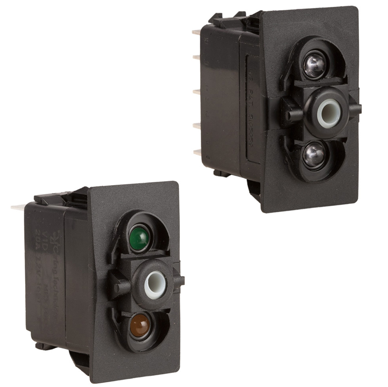 K4 Contura Lighted Switch Bodies