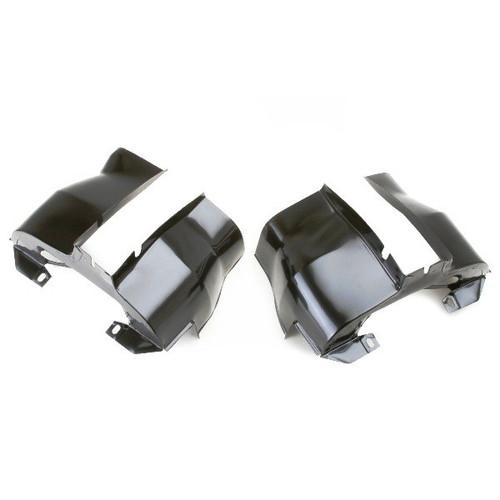 Pair Empi 9063 Chrome Dual Port Cylinder Shrouds//Covers Vw Bug
