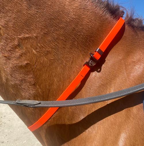 Jemelli Neck Strap in Orange