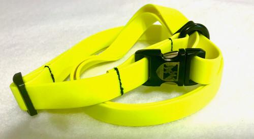 Jemelli Neck Strap in Yellow