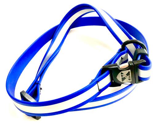 Jemelli Neck Strap in Royal Blue Reflective