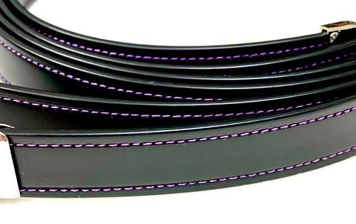 Lojic Stirrup Straps Purple Accent