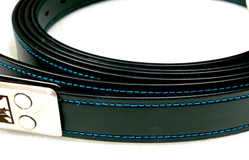 Lojic Stirrup Straps Teal Accents