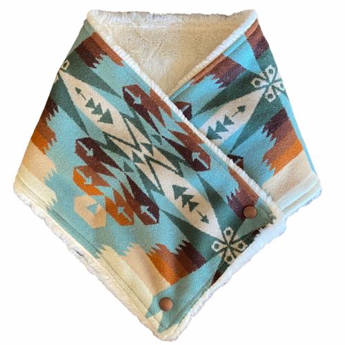 Copy of Neck Wrap in Tucson Aqua