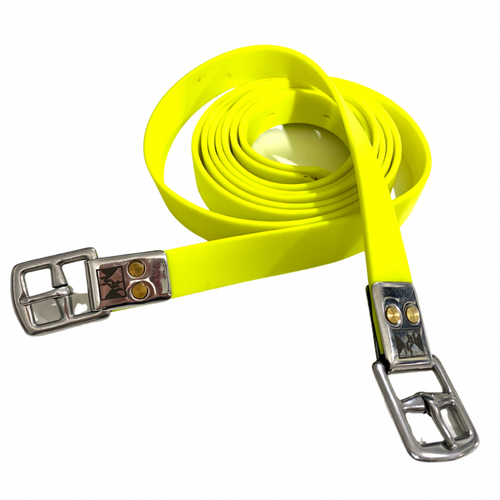Jemelli Stirrup Straps Yellow