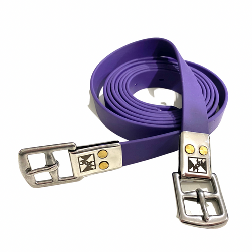 Jemelli Stirrup Straps Purple
