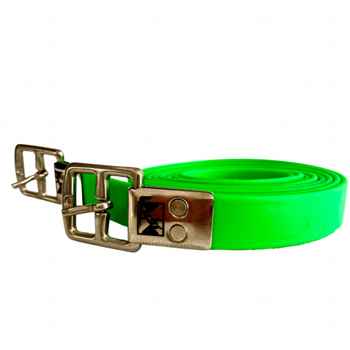 Jemelli Stirrup Straps Bright Green