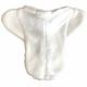 Fleece underside of pad