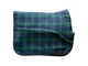 Highland Dressage in Black Watch Plaid
