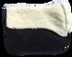 Bi-level fleece underside