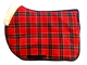 Highland Close Contact in Red Plaid (Clan Stewart)