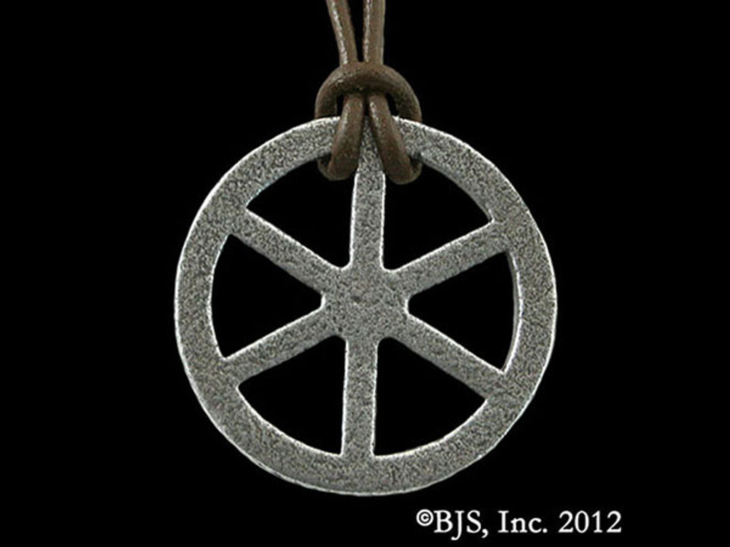 Telhu's Iron Wheel Pendant (OUT OF STOCK)