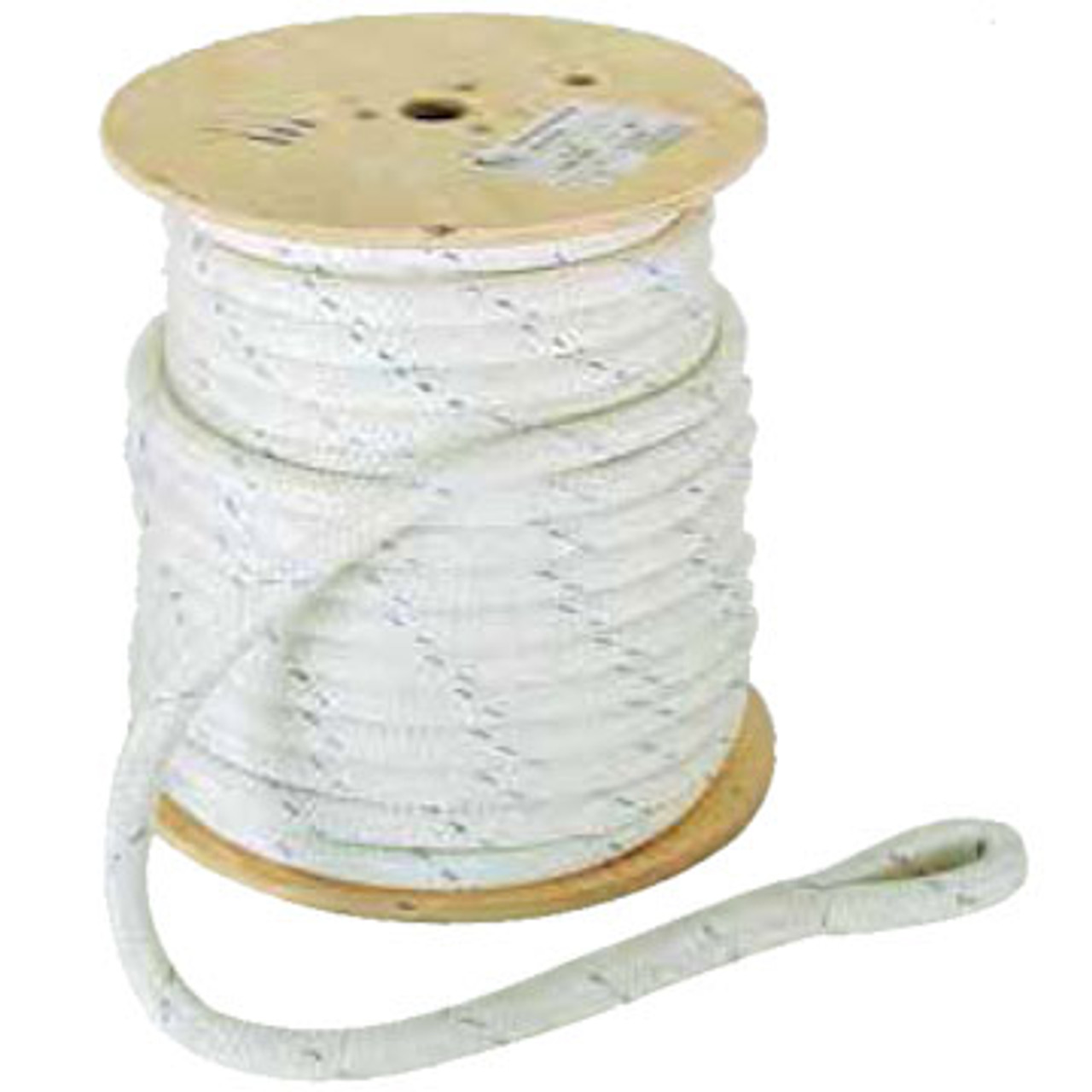 Condux Double-Braided Cable Pulling Rope is a premium quality rope recommended for cable pulling. Double-braided construction offers high working loads and tensile strength without kinking. Other sizes available.
