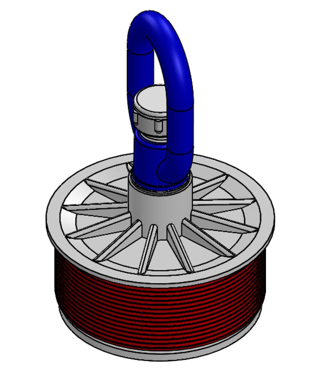 """Kwikie Plug 4"""" With Loop Nut ( - CAM 5120-40L"""