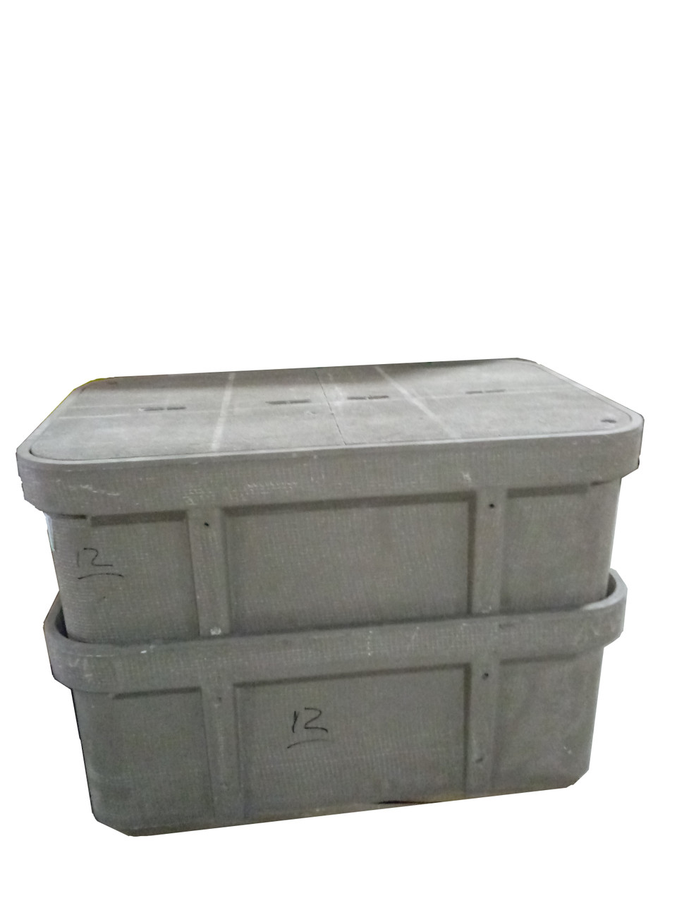 Quazite Enclosure, Box, Polymer Concrete, GA DOT, 30x48x18