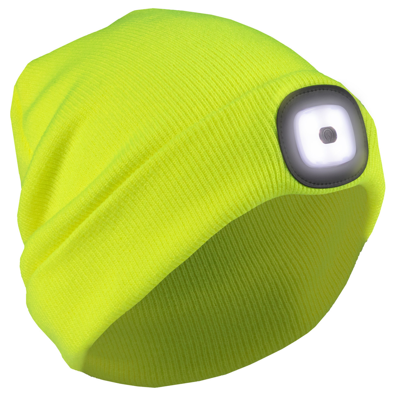Knit Cap with Rechargeable LED Light (ERB-63197)
