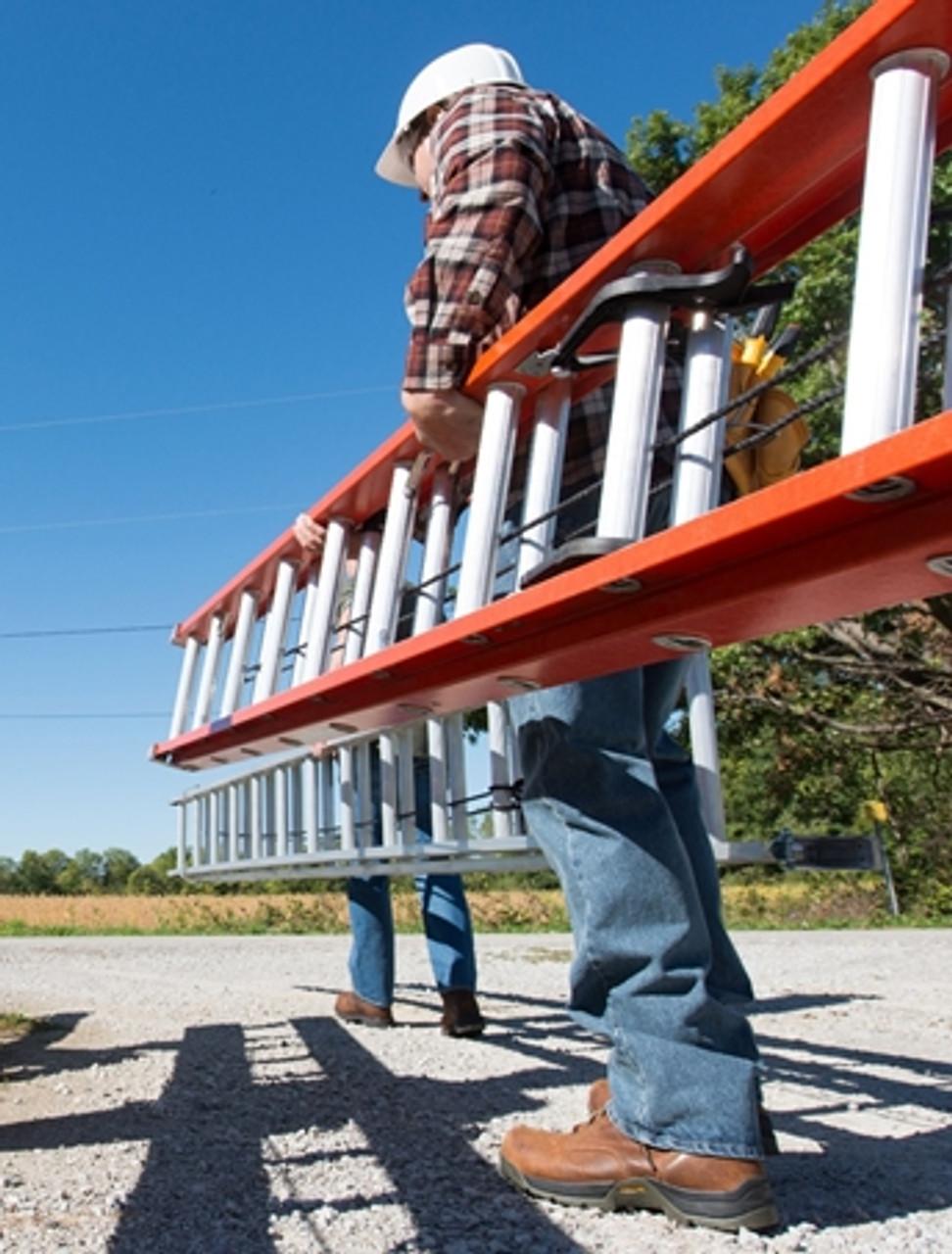 16' Fiberglass Extension Ladder 300lb. Type 1A LL FE3216