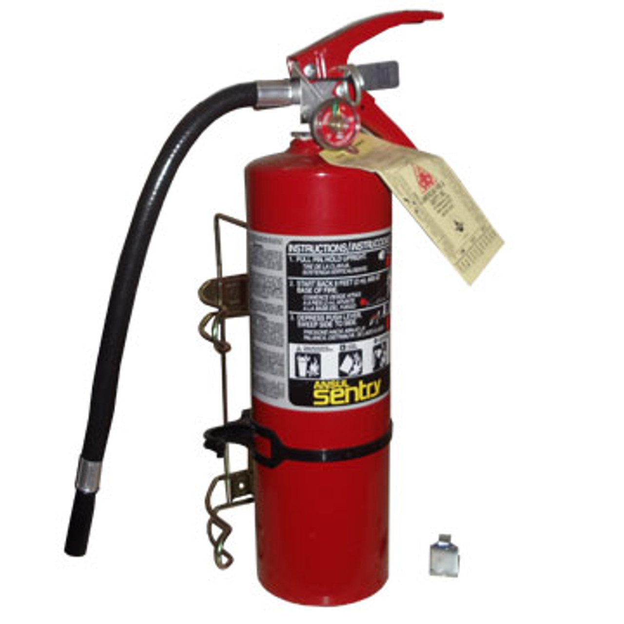 2 lb and 5 lb fire extinguisher