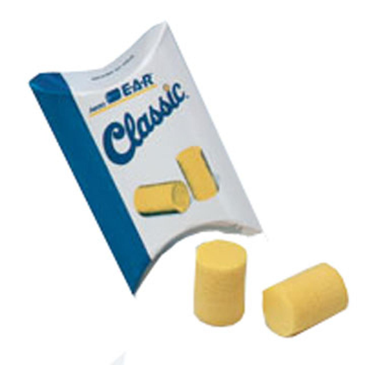 ERB Classic Foam Ear Plugs - Uncorded - Yellow (1 Pair)