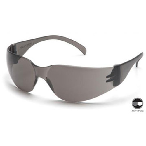 PYRAMEX S4120ST Intruder Gray Anti-Fog Lens Safety Glasses