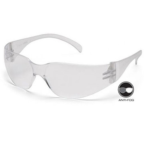 PYRAMEX S4110ST Intruder Clear Anti-Fog Lens Safety Glasses