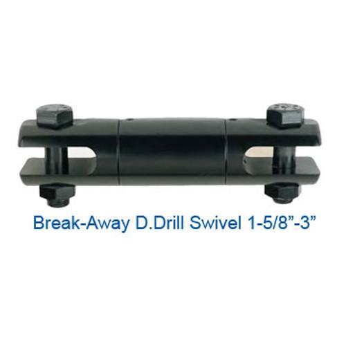 """CX08075600 Break-Away D.Drill Directional Drilling Swivel Size 3"""" Break Load 18500"""